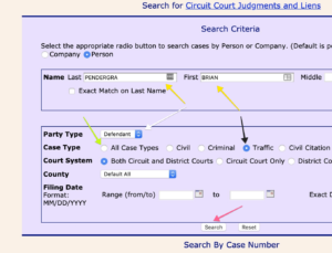 Maryland Judiciary Case Search Name Search